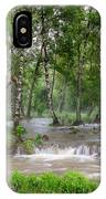 Spring Floodwaters. Altai IPhone Case