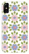 Spring Floral Pattern Textiles IPhone Case