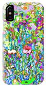 Spring Flower Bed IPhone Case