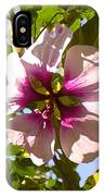 Spring Flower Peeking Out IPhone Case