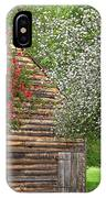 Spring Flowers And The Barn IPhone X Case