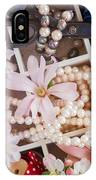 Spring Flowers Box IPhone Case