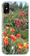 Spring Flowers In A Garden IPhone Case