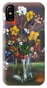 Spring Flowers In Vase IPhone Case