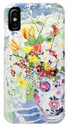 Spring Flowers On The Island IPhone Case
