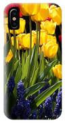 Spring Flowers Square IPhone Case