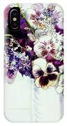 Spring Flowers With Fritillaria  IPhone Case