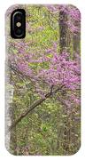 Spring Forest With Redbud IPhone Case