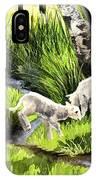 Spring Grasses IPhone Case