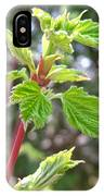 Spring Greenery IPhone Case