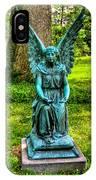 Spring Grove Angel IPhone Case