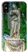 Spring Grove Angel Statue IPhone Case