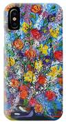Spring Has Sprung- Abstract Floral Art- Still Life IPhone Case