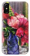 Spring In A Blue Bottle IPhone Case
