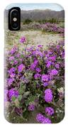 Spring In Anza  IPhone Case