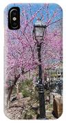 Spring In  Columbus Park 1 IPhone Case
