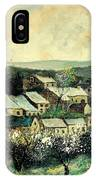 Spring In The Ardennes Belgium IPhone Case
