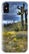Spring In The Desert  IPhone Case