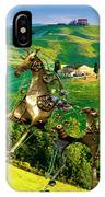 Spring In The Field 1 IPhone Case