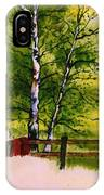Spring In The Paddock IPhone Case