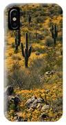 Spring In The Sonoran Desert  IPhone Case