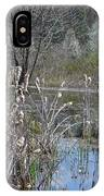 Spring In The Wetlands IPhone Case