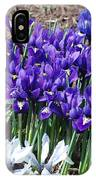 Spring Japanese Iris IPhone Case