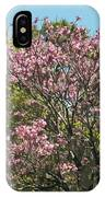 Spring Magnolia In Winter Park  IPhone Case