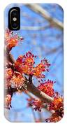 Spring Maple Blossoms IPhone Case