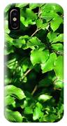 Spring New Beech Leaves IPhone Case
