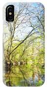 Spring On A Pennsylvania Stream, Fairmount Park, Philadelphia IPhone Case