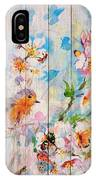 Spring On Wood 06 IPhone Case
