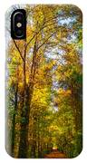 Spring Path IPhone Case by Parker Cunningham