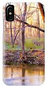 Spring, Pennypack Creek, Pennsylvania IPhone Case