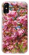 Spring Pink Blossoms IPhone Case