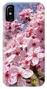 Spring Pink Tree Blossoms Art Print Baslee Troutman IPhone Case