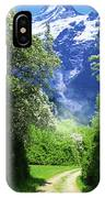 Spring Road To Mountains IPhone Case