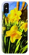 Spring Series Painting IPhone Case