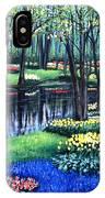 Spring Splendor Tulip Garden IPhone Case