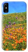 Spring Superbloom In Walker Canyon IPhone Case