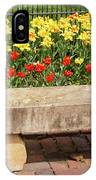 Spring Surrounds The Bench IPhone Case