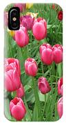 Spring Time Floral Tulips Galore IPhone Case