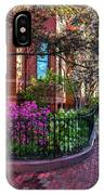 Spring Time In The City IPhone Case