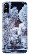 Spring Trees And Shadows IPhone Case