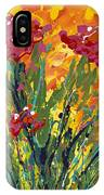 Spring Tulips Triptych Panel 1 IPhone Case