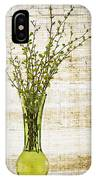 Spring Vase IPhone Case