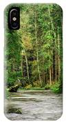Spring Woods Greenery IPhone Case