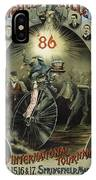Springfield Bicycle Club 1886 IPhone Case