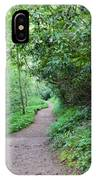 Springing Down The Path IPhone Case