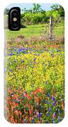 Spring's Floral Quilt IPhone Case